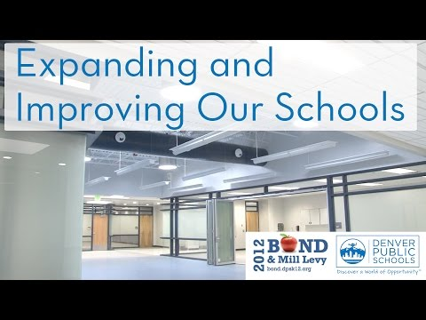 DPS Renovating, Expanding Schools During 'Enrollment Explosion' - 2012 Bond Update