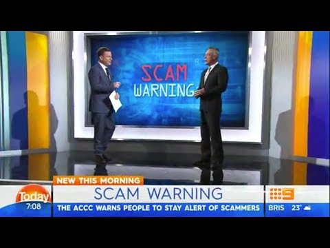 Scammers pretending to be Australian government officials
