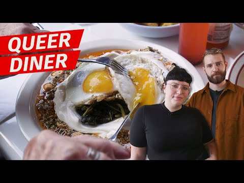 Xxx Mp4 One Of New York's Best Diners Is Very Very Gay — Queer Table 3gp Sex