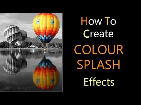 How To Make Colour Splash Effects Partial Black & White Using Android iOS