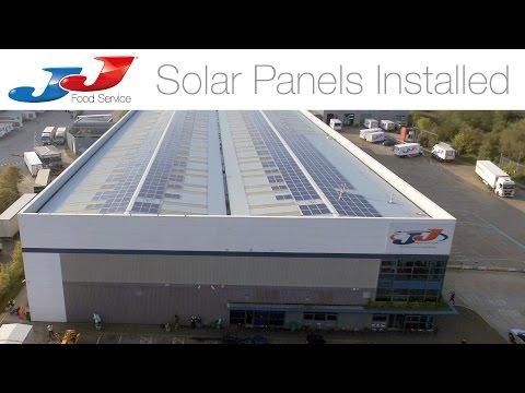 JJ Food Service Solar Panels