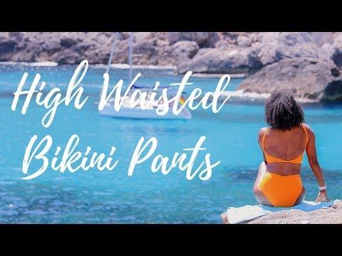 DIY HIGH WAISTED BIKINI PANTS