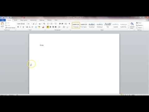 How to fix a disappearing ribbon in Word