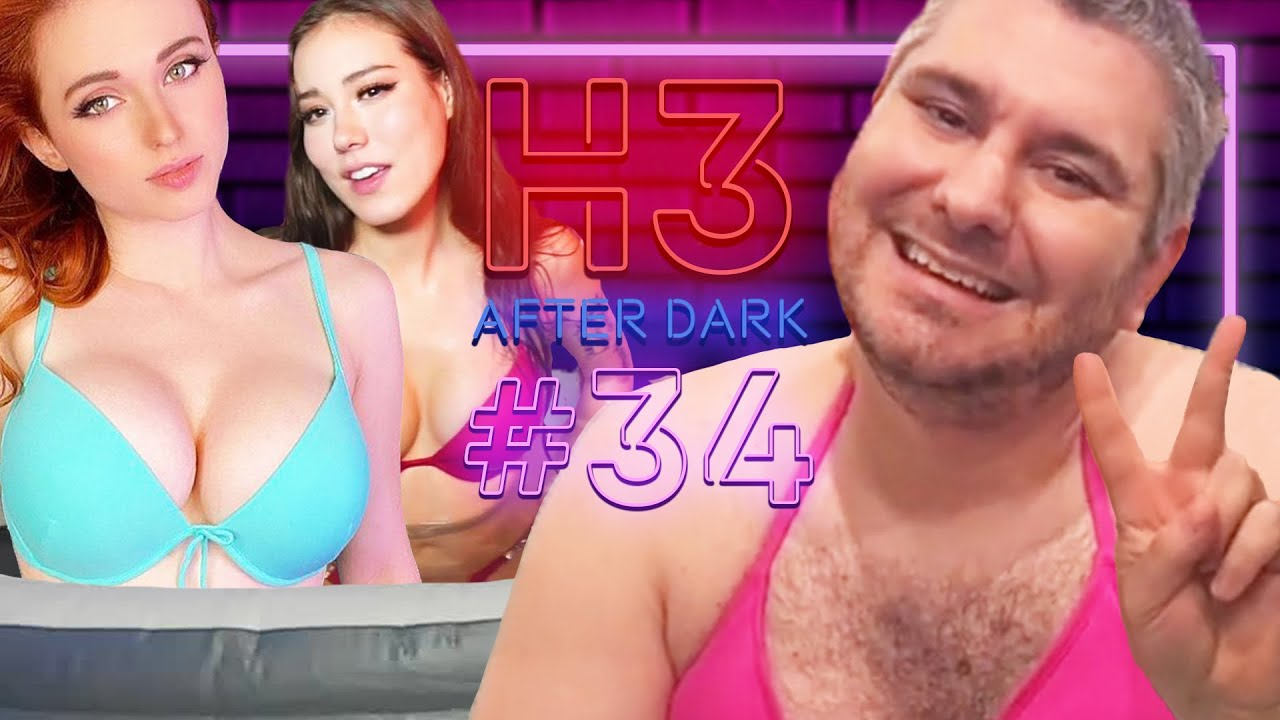 Twitch Hot Tubs & Bitconnect Carlos Calls In - H3 After Dark # 34