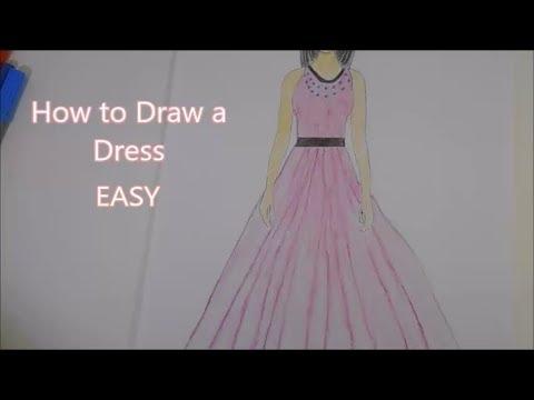 How to Design a Dress EASY!