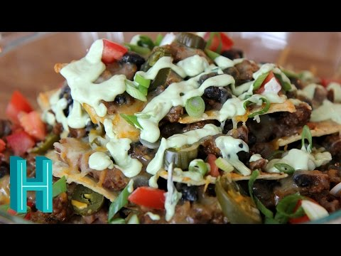 How to Make Nachos Supreme with Avocado Cream |  Hilah Cooking