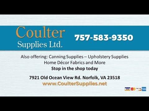 Coulter Supplies | Norfolk VA Foam Sponge and Rubber