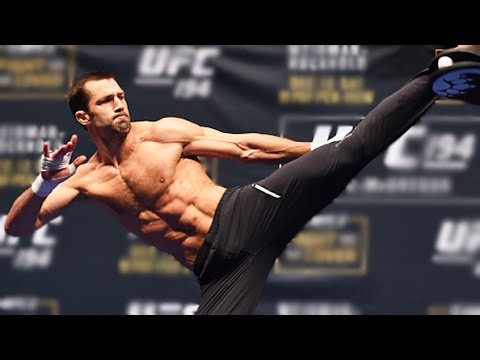 UFC 194: Luke Rockhold Open Workout + Q&A (Complete)