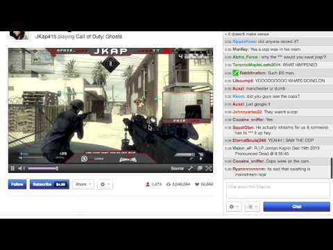 JKap Swatted On Live Stream