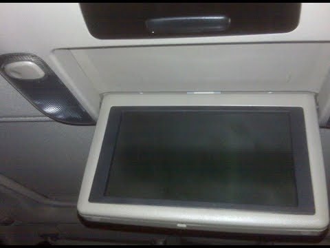 How to Remove DVD Player Display from Toyota Sequoia 2004 for Repair.