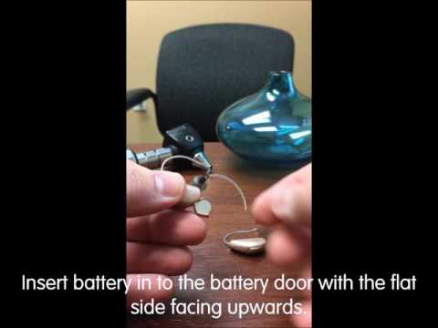 How to change your hearing aid battery (BTE, RIC)