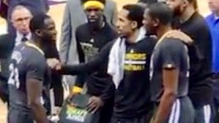 Kevin Durant & Draymond Green Get In HEATED argument during Warriors loss to Kings
