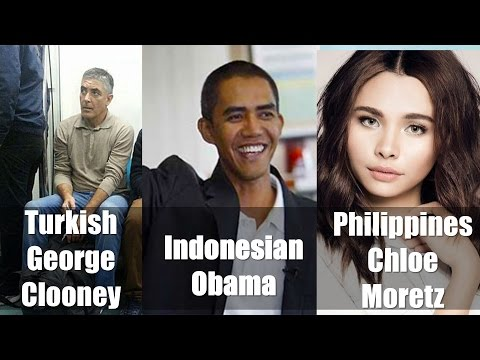 2017 Celebrity Doppelgangers from Different Countries