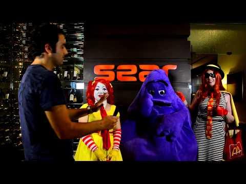 Dragon Con 2013 Interviews: McDonald's Crew - Ronald, Grimace, and the Hamburglar