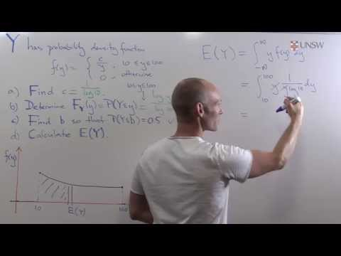 Ch9Pr45: Expectation of Continuous Random Variables