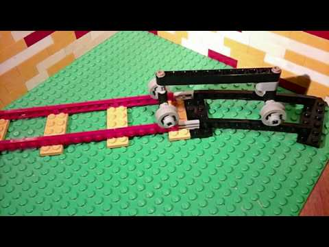 how to build a lego roller coaster