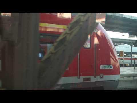 Frankfurt Airport to City Centre Train Ride