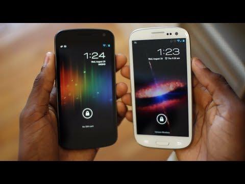 CyanogenMod 10 on the Samsung Galaxy S3!