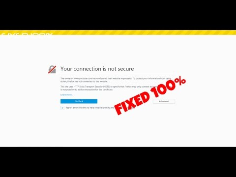 How to fix your connection is not secure on firefox-Error code: SEC_ERROR_EXPIRED_ISSUER_CERTIFICATE
