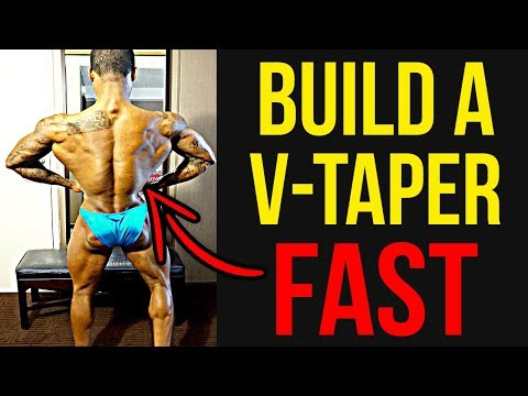 How To Build A V-Taper   5 Must Do V-Taper Exercises!