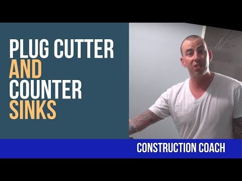 Plug Cutter and Counter Sinks