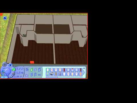 How to make apartments on the sims 2!
