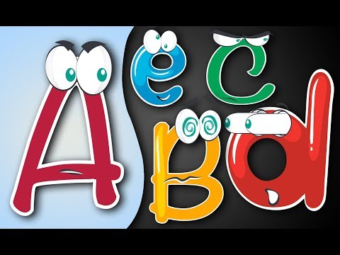 ABC Song, Learn the Alphabets with Cute Upper and Lower Case Alphabet song. Let's Play Kids.