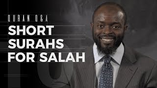Short Surahs for Salah - Quran Q&A - Abdullah Oduro