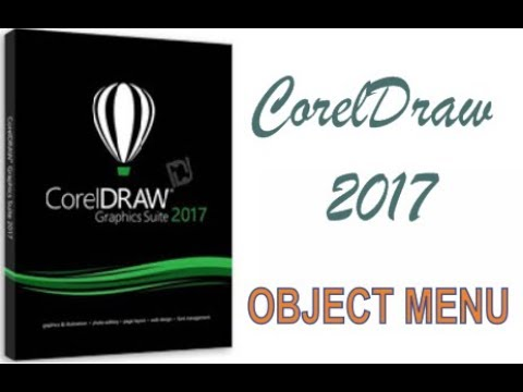 COREL DRAW 2017 USING OBJECT MENU HINDI URDU PART 46a