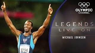 What is Athletics Icon Michael Johnson Doing Now? | Legends Live On