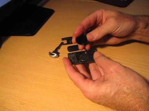 How To Replace A Battery In a Mazda Key Fob