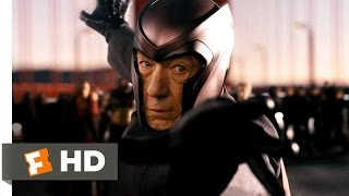 Download X-Men: The Last Stand (2/5) Movie CLIP - Magneto's Bridgework (2006) HD Video