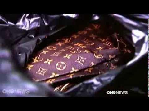 Fake designer bags hard to spot   TV News Video 2014