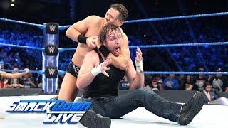 The Miz vs. Dean Ambrose - Intercontinental Championship Match: SmackDown LIVE, Jan. 3, 2017