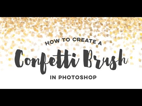 How To Create a Confetti Brush in Photoshop