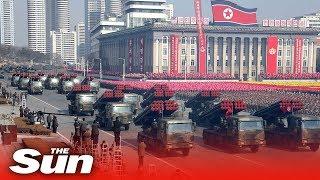 North Korea 70th Anniversary Military Parade 2018 (FULL)
