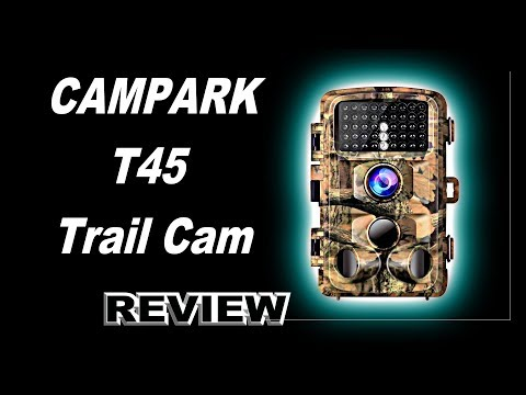 🦌 Campark T45 HD Wildlife Trail Game Camera. One month of Testing, Photos and Videos.