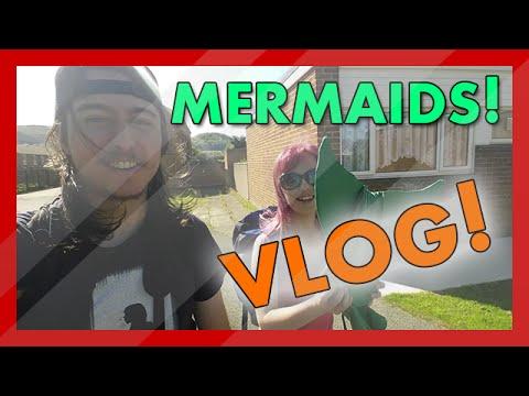 Filmmaking Vlog - Rachael Mermaid Photoshoot and Video