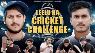 Leelu ka  Cricket  Challenge || Nazarbattu || 2019