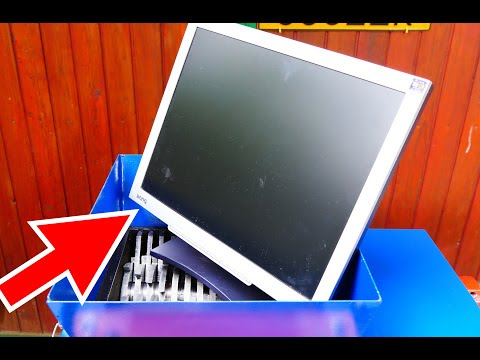 ELECTRONICS SHREDDING (LCD MONITOR, LAPTOP, PC MOTHERBOARD, TV REMOTE)