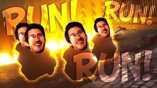 RUN CHUBBY DUDES!!