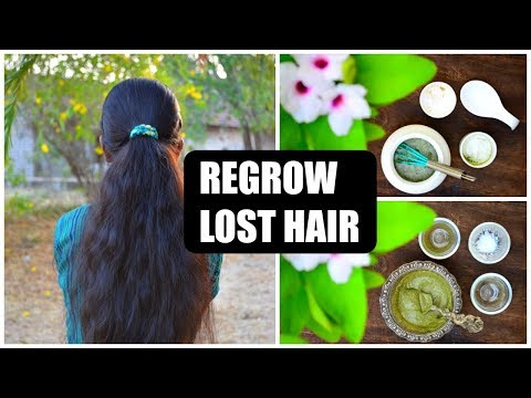 After Using These 2 Remedies Your Hair Will Never Stop Growing & You Will Not Have Hair Loss Anymore