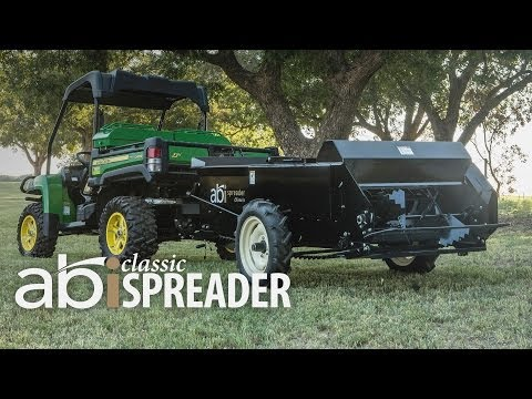 Compact Manure Spreaders by ABI - Classic Spreader