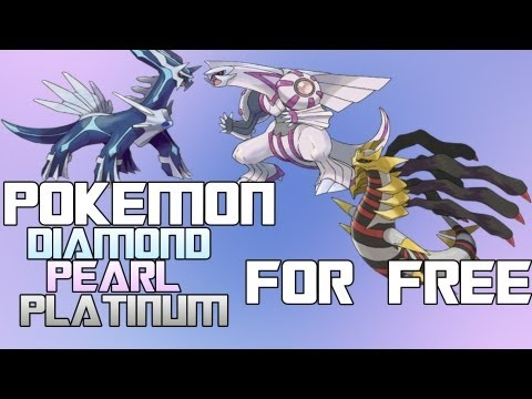 How to Get Pokemon Diamond Pearl and Platinum For Free For PC! Gameplay