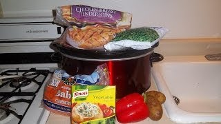 Crock Pot Recipe Chicken And Vegetable Soup Made With Chicken Tenderl