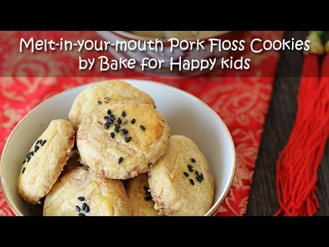 Melt in your Mouth Pork Floss Cookies