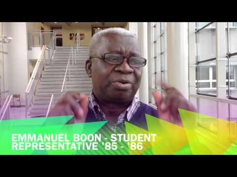 Emmanuel Boon talks about the importance of the Student Council