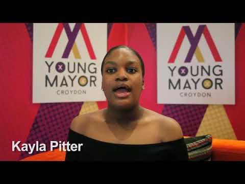 Croydon Young Mayor candidate - Kayla Pitter