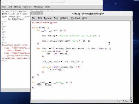 Python 51 String Find