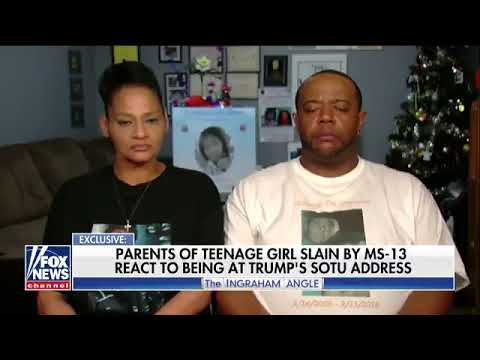 Parents found it 'Very Disrespectful' Democrats did not stand in honor of their murdered daughter